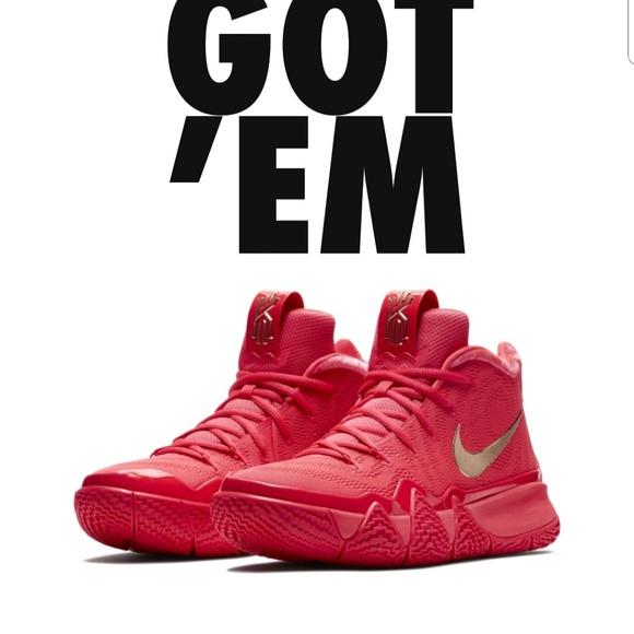 76a073170526 Kyrie 4 Red Carpet. NWT. Nike